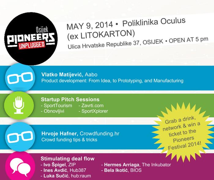 Pioneers Unplugged Osijek - vizual