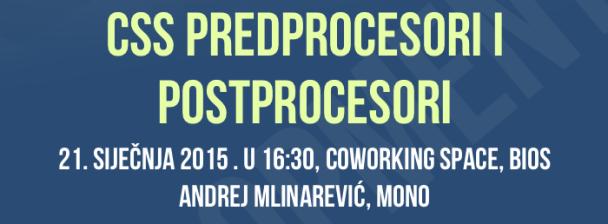 CodeCAMP :: CSS Predprocesori i postprocesori